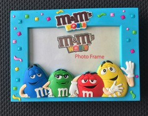 M&M's store picture frame- retail